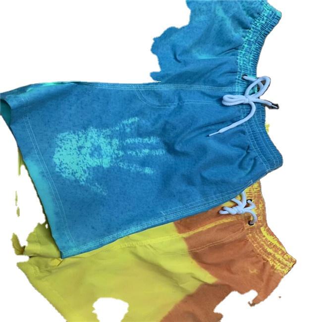 Прочная ткань из 100% полиэстера с изменением температуры цвета