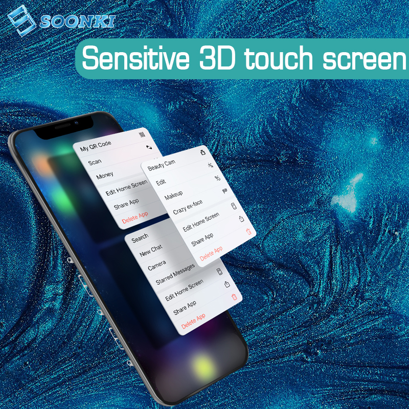 TS8 Мобильный телефон lcd для iphone дисплей ecran для iphone 6 6s 6splus 7 8plus X Xr Xs max ЖК-экран дигитайзер сборка