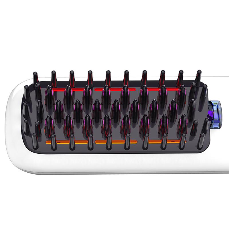 Трендовые продукты 2021, быстрый утюжок для волос, стайлер для ухода за волосами, уменьшение сухости, 3 температурных контроля, выпрямитель для волос, гребень для укладки
