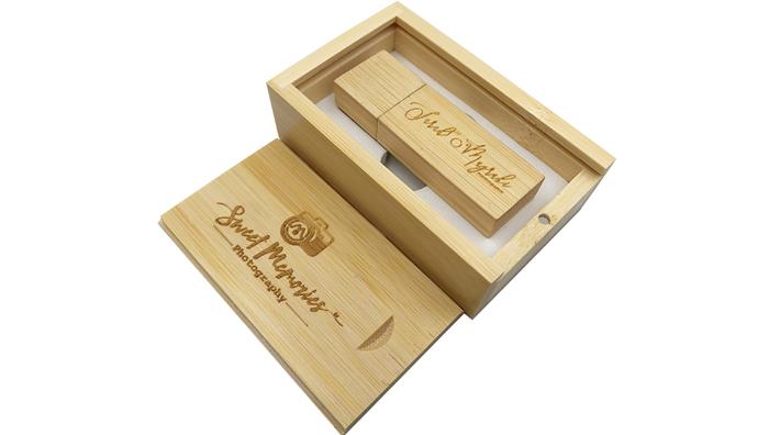 YONANSON свадебные подарки деревянная коробка USB 2,0 3,0 флэш-накопитель на заказ
