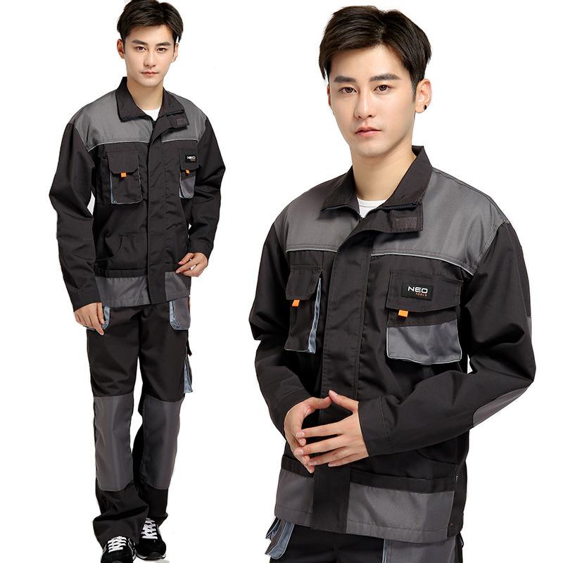 Wholesale Custom Logo Printing Workwear Uniforms Sets Unisex Coveralls Overalls