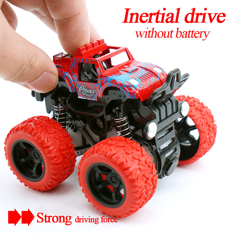 New Mini Inertial off-Road Vehicle Four Wheel Drive Plastic Children Toy friction car Toy For Kids Gifts Friction Toy Vehicles