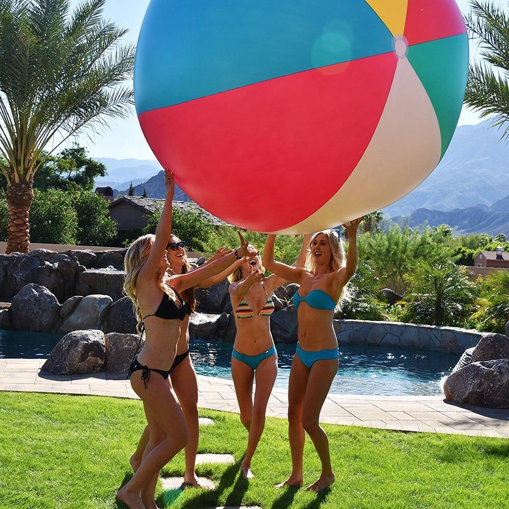 Novelty Boob Beach Ball Float Joke Titty Bachelor Pool Party Tit Prank Gag Gift Floats, Rafts Toys Hobbies