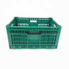 Plastic Box Manufacturer Hot Sale Logistics Plastic Foldable Turnover Box For Vegetables And Fruit
