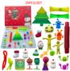 B3 25pcs/set Advent Calendar Set