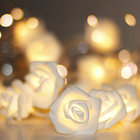 Decoration String Party String Lights Best Selling Party Favors Wedding Valentine's Decoration Rose Flower Battery/USB Led String Light