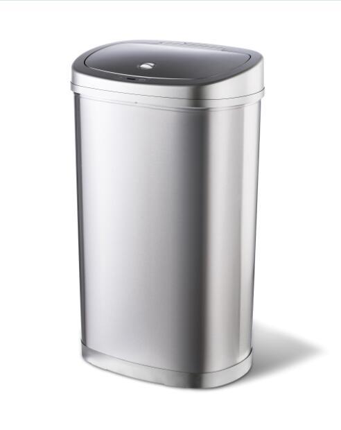 Ninestars Amazon Household Kitchen Indoor Classified Plastic Rubbish Trash Bin Sorting Garbage Can With Lid Buy Ss Bin With Locking Lid Sorting Trash Bin Stainless Steel Garbage Bin Product On Alibaba Com
