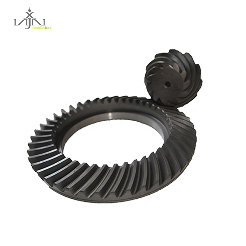Auto parts custom pinion gears for toyota crown wheel pinion hiace hilux with 12*43 3.58 ratio