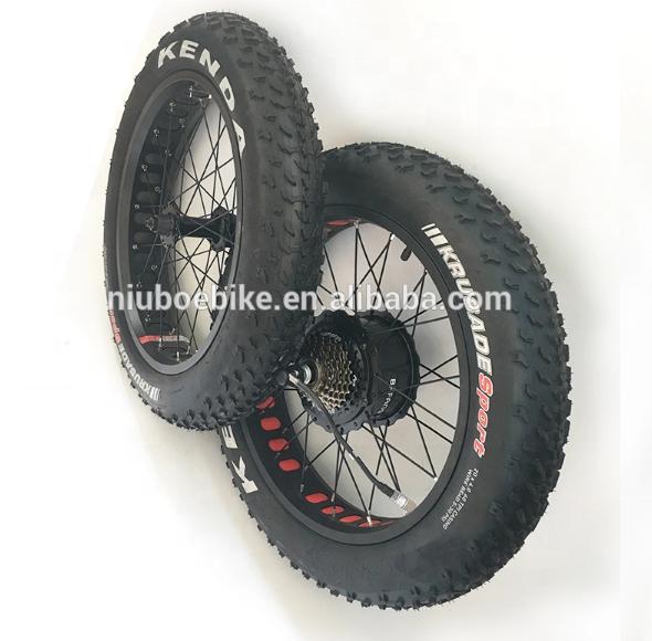 Набор для переоборудования велосипеда Bafang 8fun, 48 В, 500 Вт, 750 Вт