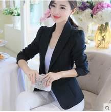 Женские офисные куртки и пальто, тонкие блейзеры на пуговицах, модная повседневная верхняя одежда, WLF056, 2020(Китай)