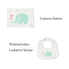 Cotton Organic Baby Baby Bib 100% Cotton WD05-02 Custom 100% Cotton Waterproof 100% Organic Cotton Disposable Baby Bandana Bibs Organic Cotton