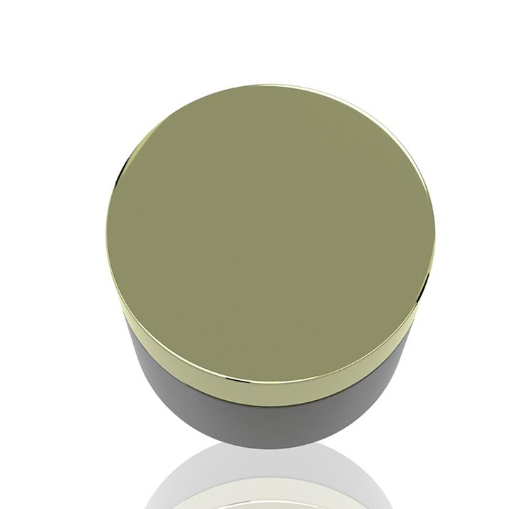 ningbo fantastic novel 3g 25g 48g 55g 250g 350g black PET/ABS  palstic cosmetics packaging bottles and skin care jars