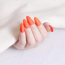24 шт остроконечные накладные ногти съемные советы для наращивания ногтей маникюрный дизайн пресс на поддельные накладные ногти для женщин ...(Китай)