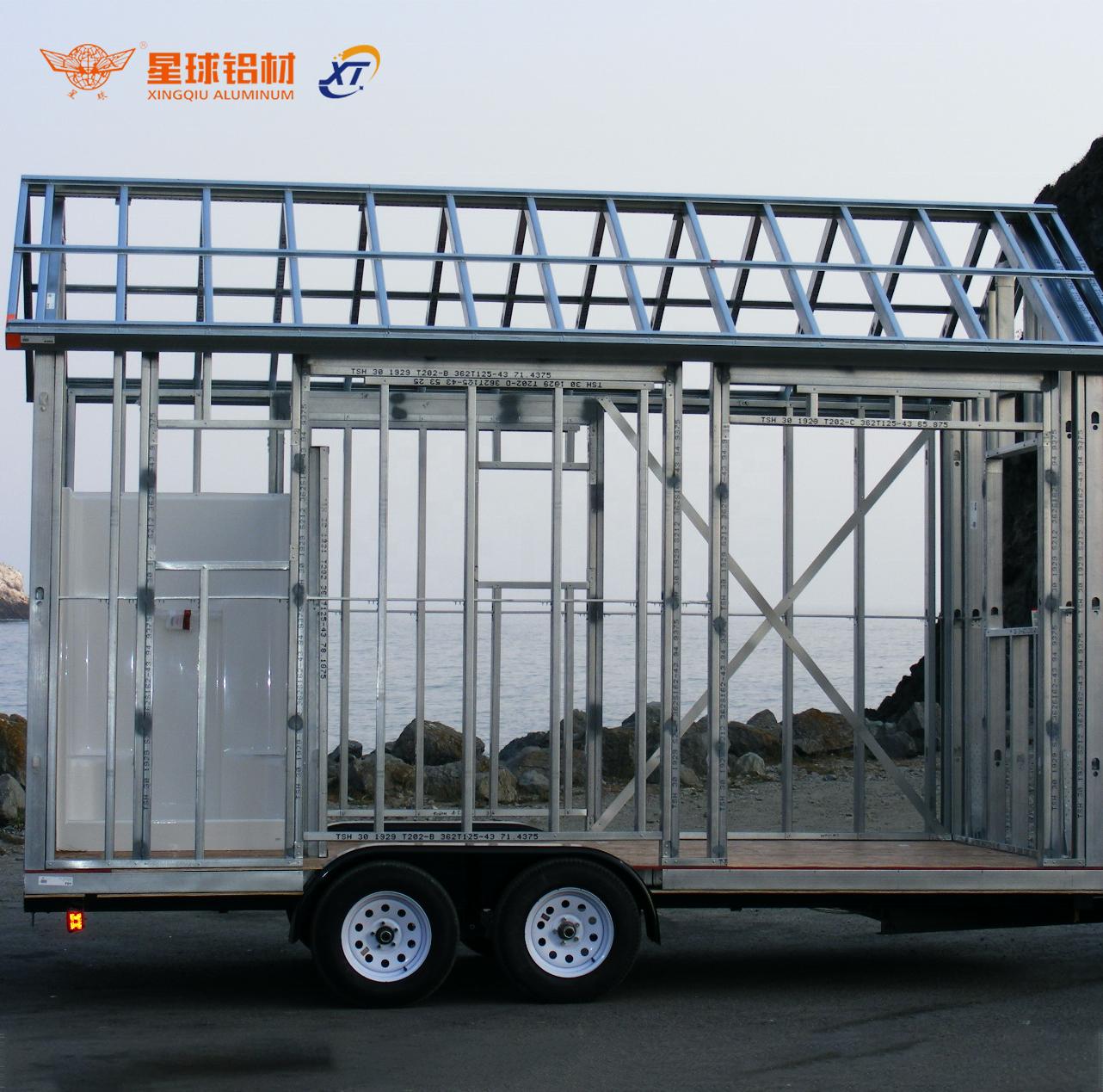 Алюминиевые композитные пластиковые панели для дорожного прицепа, алюминиевая облицовочная рама и алюминиевая облицовочная рама для трейлера