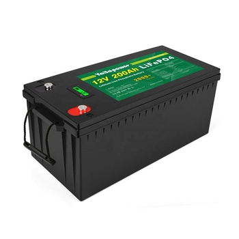 OEM 12V 24V 36V 48V Factory Supply Long Life LiFePO4 4S33P Rechargeable 200Ah Li-Ion Storage 12v Lifepo4 Battery Pack