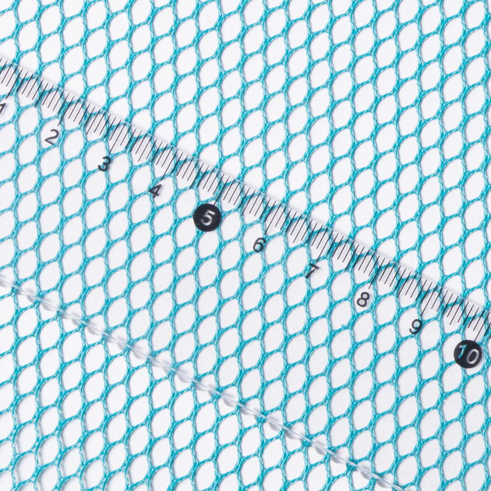 Superior quality 50D hard mesh 100% polyester breathable Hexagonal hard tulle net fabric