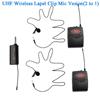 Black Lapel 2 mics