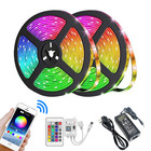 Light Rgb Strip 5050 Rgb Smd 5050 Rgb Led Strip 12v TV Background Light 5m 10m Smart APP Wifi Remote Control 150 300 LEDs Flexible LED RGB Strip Light Kit SMD 5050