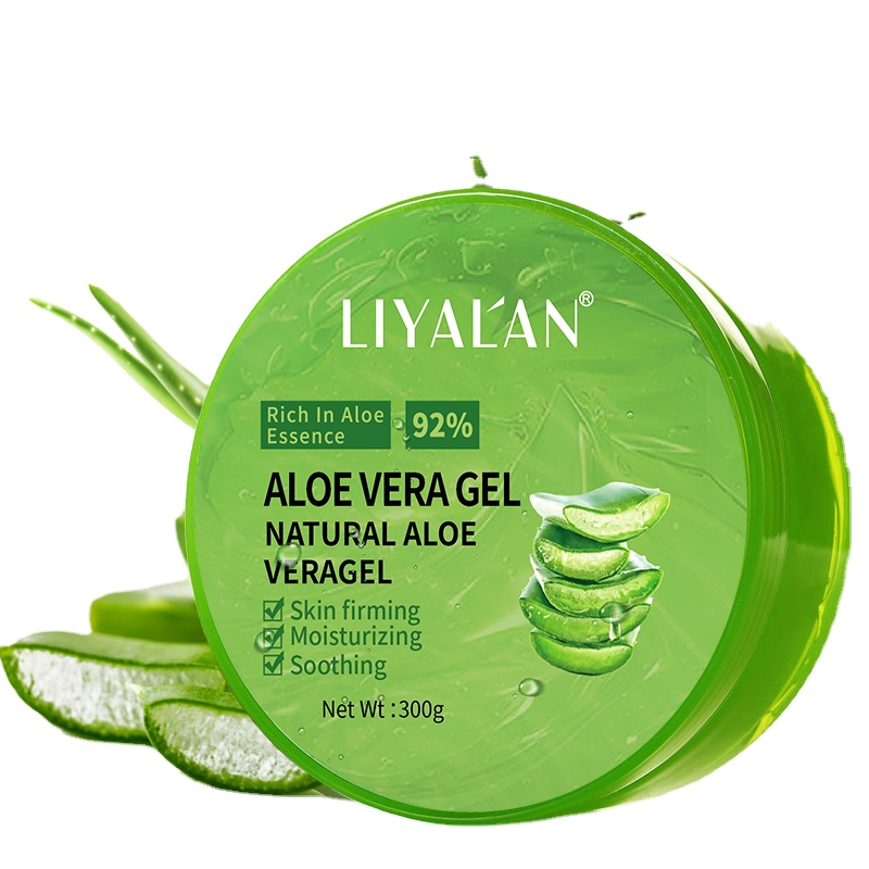 OEM/ODM Private Label 100% Natural organic aloe vera extract Vegan Skin Care Moisturizing sunburn soothing Aloe Vera gel
