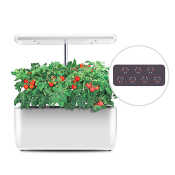 25W Intelligent Lazy Planting Home Non-toxic Soilless Hydroponic Plant Growth Machine with Led Grow Light