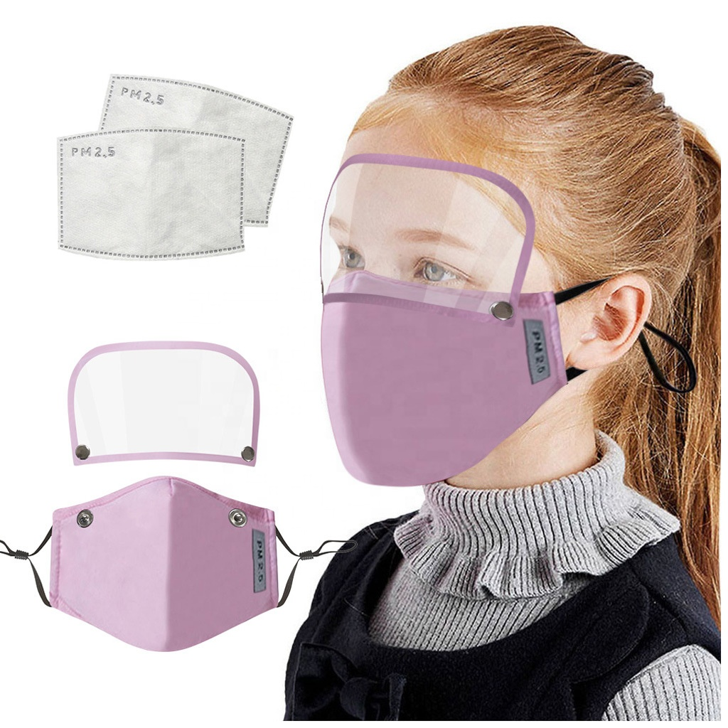 ZY-0167782 Fashion Children Reusable Eye Shield Ear Loop Adjustable Filter Facial Children Cloth Mask - KingCare | KingCare.net
