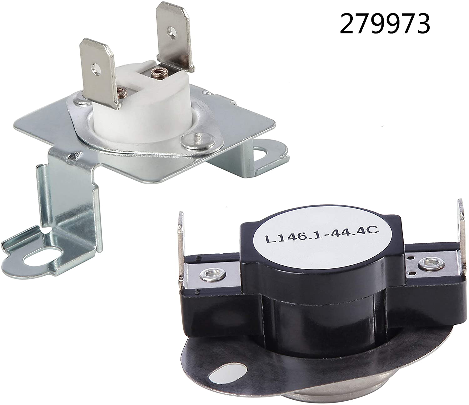 3387747 Dryer Heating Element & 279816 Thermostat Kit & 279973 3392519 Thermal cut-off Fuse Replacement