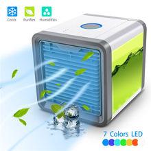 Портативный мини-вентилятор для кондиционера, персональный космический вентилятор, кулер, USB, Arctic, охлаждающий увлажнитель, быстрый и легки...(Китай)