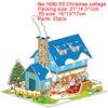 1690-53 Christmas cottage