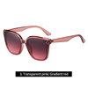 3. Transparent pink/ Gradient red