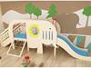 Elephant wooden indoor play slide