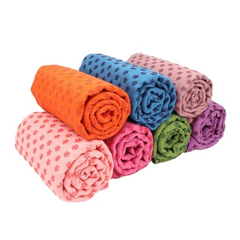 Hampool Custom Printed Natural Ecological Microfiber Yoga Mat towel