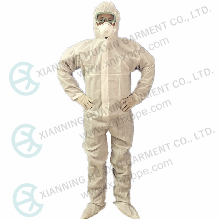SMS Disposable Coverall With Boots - KingCare | KingCare.net