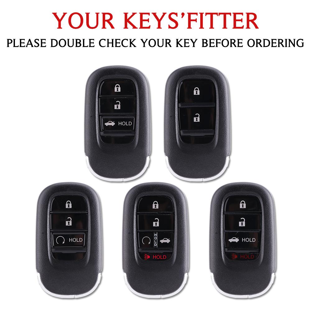 key case For Honda Car Key Case 2021 Civic TPU protect Cover Carkey shell