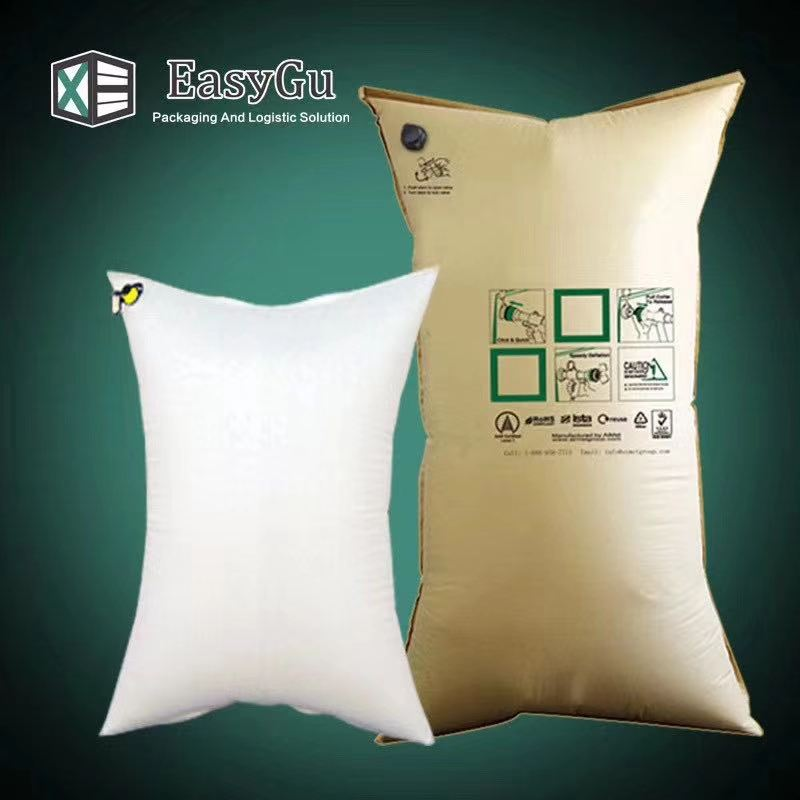 reusable Inflatable Kraft Dunnage Air Bag Cargo Shipping For Container Loading