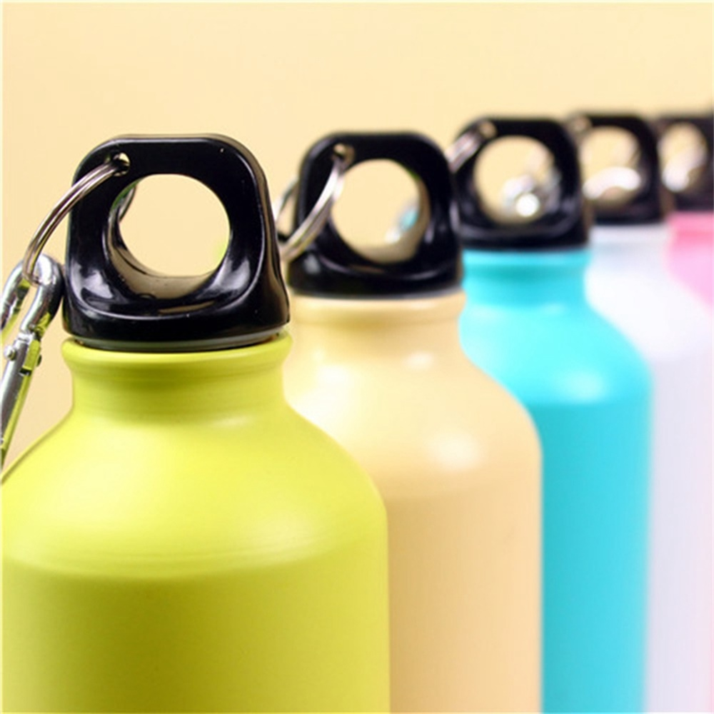 EG/_ HK 500ml Sport Juice Bottle Foldable Portable Travel Outdoor Water Cup Perf