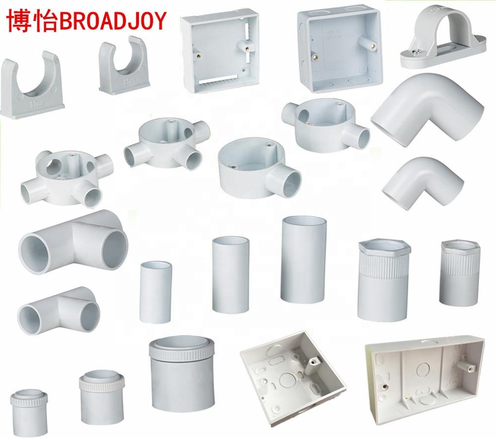 Pvc Electrical Wiring Cable Protector Conduit Pipe Accessories Fitting -  Buy Pvc Fittings,Electrical Fitting,Pipe Fitting Product on Alibaba.com | Home Electrical Wiring Supplies |  | Alibaba