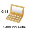 G-15, 15 Hole shiny Golden