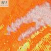 Orange Iridescent / White