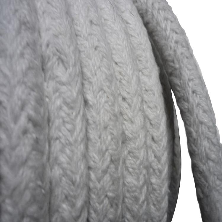 Теплоизоляционная огнестойкая керамическая волоконная веревка для двери духовки плетеная