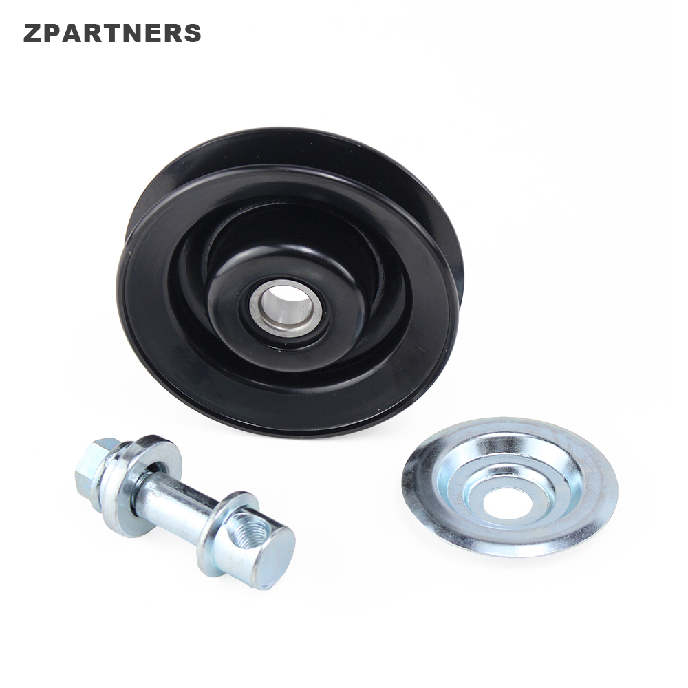 ZPARTNERS Timing Belt Tension Roller Ilder Pulley deep groove ball front wheel hub bearing puller for Toyota 88440-35040