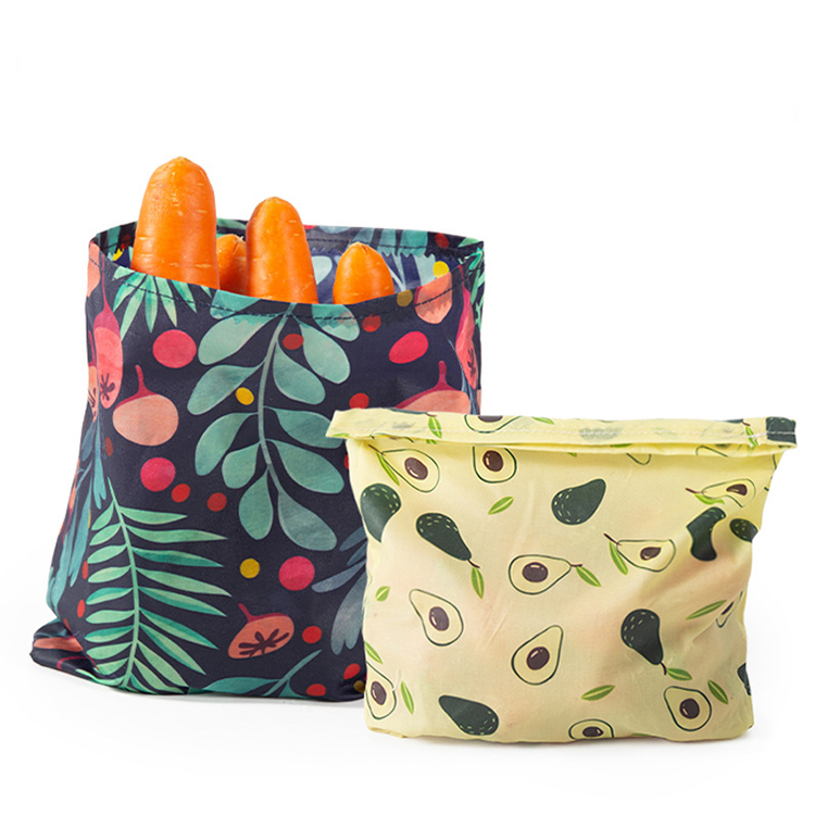 Reusable Eco-friendly Beeswax Food Wrap Sustainable Biodegradable Zero Waste 3 Sizes Set Package