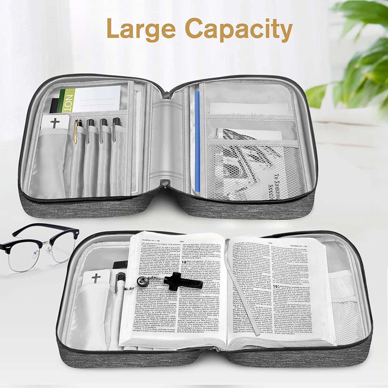 Пользовательская Водонепроницаемая церковная сумка, сумка для книг из Библии, холщовые сублимационные чехлы из Библии