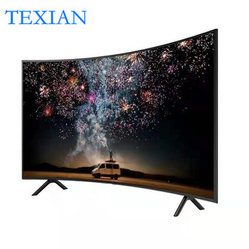 New Television 55 Inch Curved Smart Led TV 4K UHD LED Television Wifi Usb Video Fashion Design