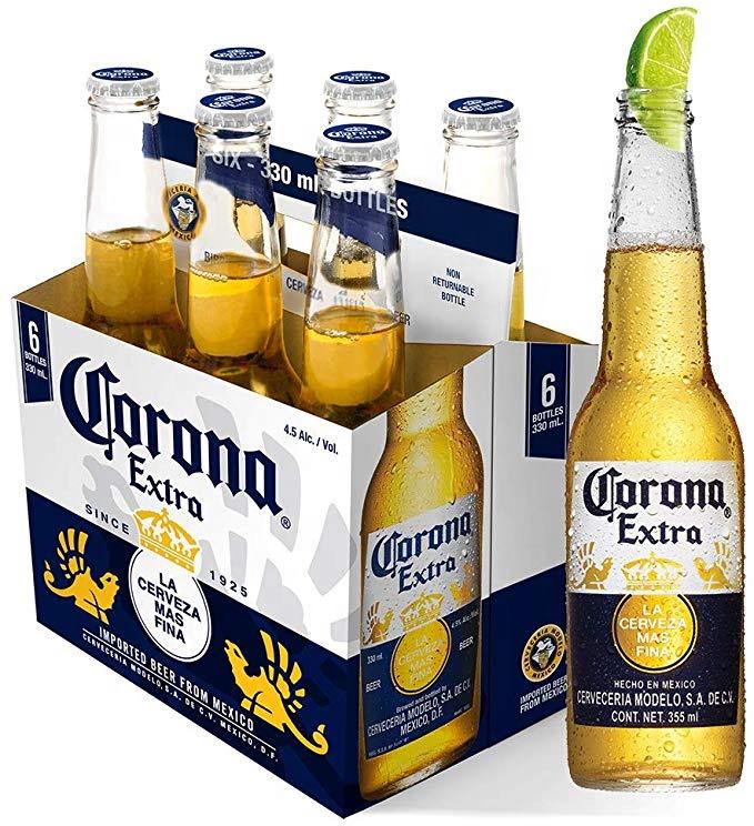 Оптовая цена, импортное пиво Корона NRBs (24x355 мл) оптом