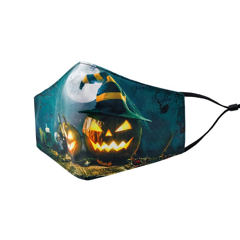 Fashion printed anti dust customized halloween night party masks for outdoor - KingCare | KingCare.net