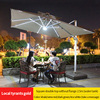 6-TH 2.5m square doul canopy with water filled base