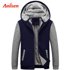 Jacket Outdoor Thick Fleece Warm Keeper Wholesale Boutique Custom Sherpa Lined Plus Size Winter Jacket