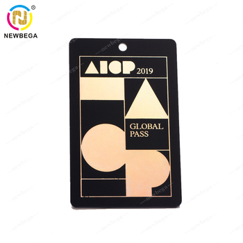 Customize Special Design hot stamp laser gold cards Embossed Membership PVC BusinessCard