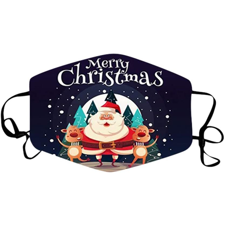 custom design breathable 3D printed fashion decorative christmas party mask for outdoor - KingCare | KingCare.net