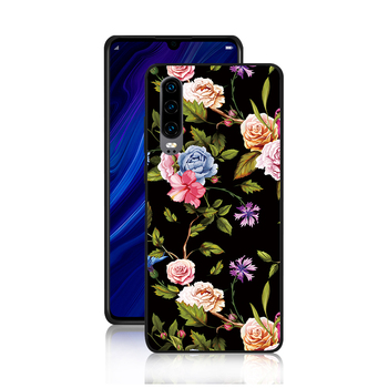 Free samples Ultra Slim TPU PC case for Huawei Mate10 MATE20 P20 P30 glossy UV printing phone back covers